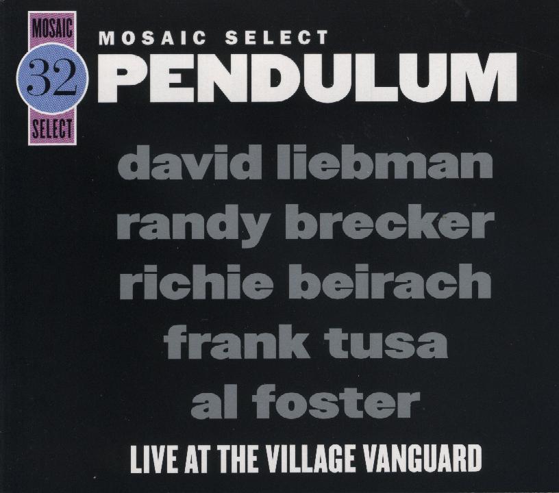Dave Liebman - Pendulum